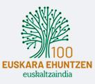 euskaltzaindiaren mendeurrena logoa